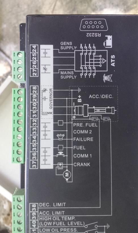 kipor 6 5kw generator wiring for automatic control northernarizona rh forum solar electric com 30 Amp RV Wiring Diagram Schematic Wiring Diagram