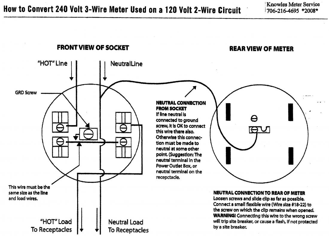 Need Wiring Help For Hooking Up A Production Meter And