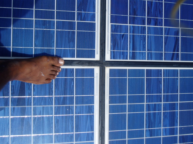 Making A Waterproof Roof Out Of Solar Panels