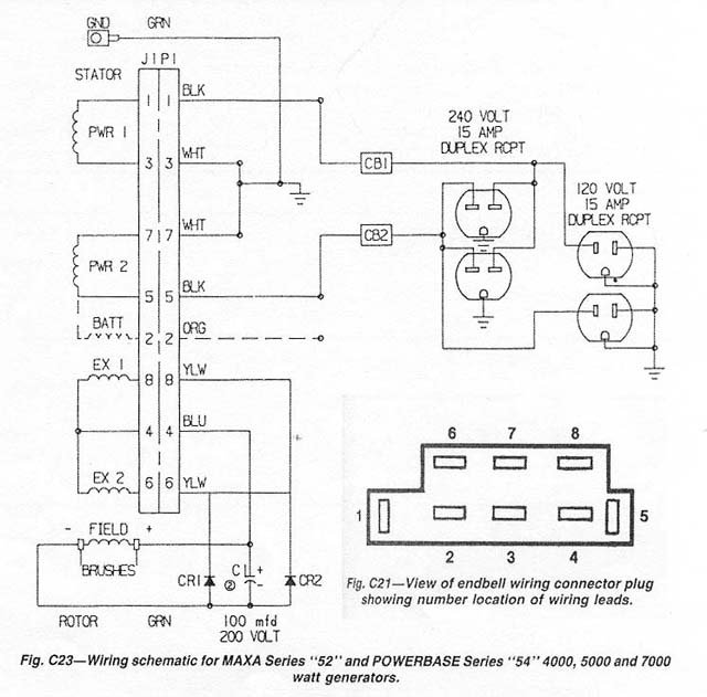 Powermate wiring diagram wiring diagram another inverter question northernarizona windandsun rh forum solar electric com coleman powermate generator wiring diagram coleman powermate generator cheapraybanclubmaster