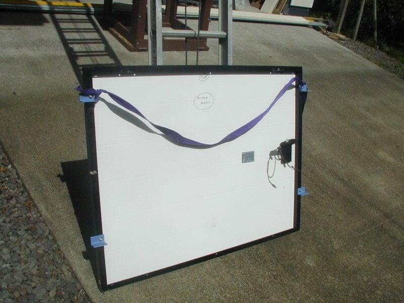 Safely Hoisting Panels Northernarizona Windandsun