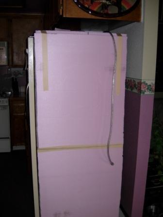 Adding Insulation To External Refrigerator