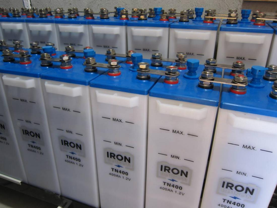 Compare Nickel Iron Edison Batteries And Chinese Ni Fe