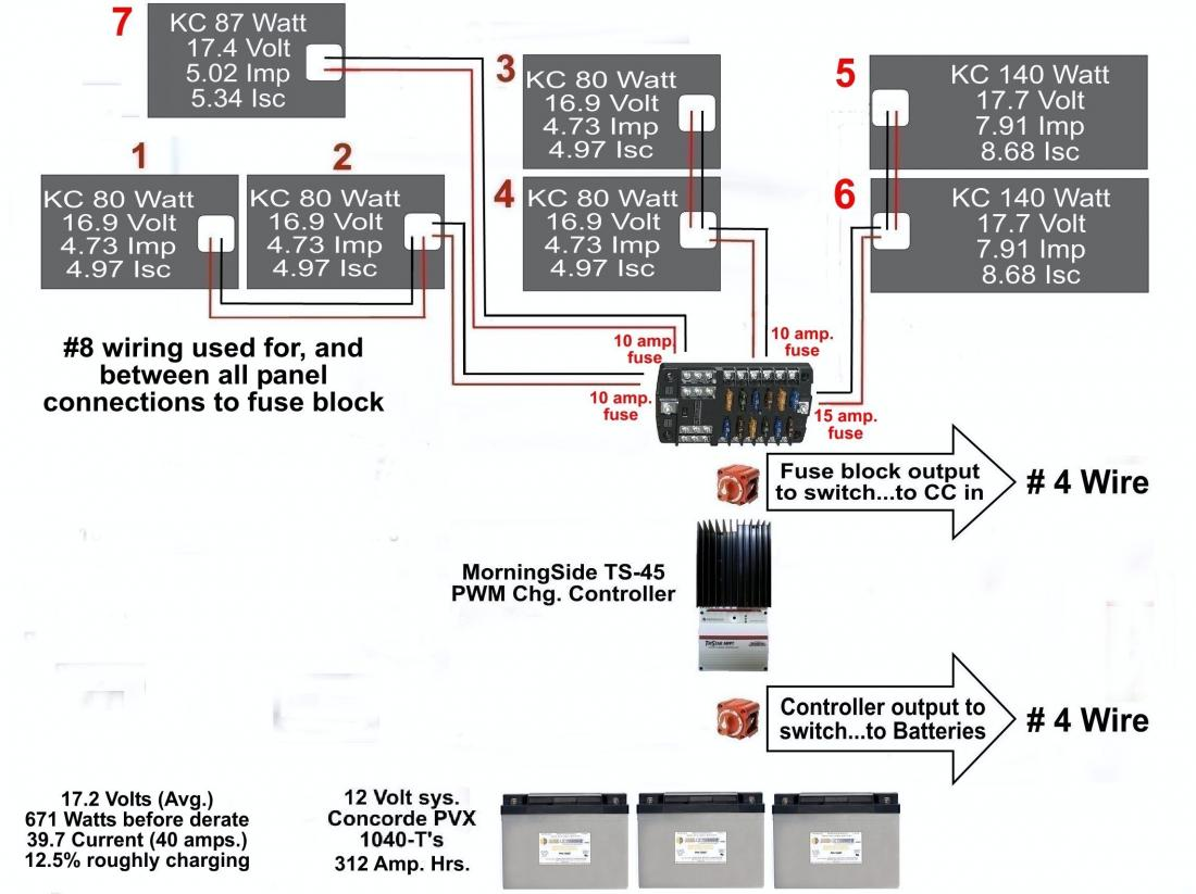 Panels Series Or Parallell Northernarizona Windandsun 12 Volt Parallel Battery Wiring Diagram Rough Layout