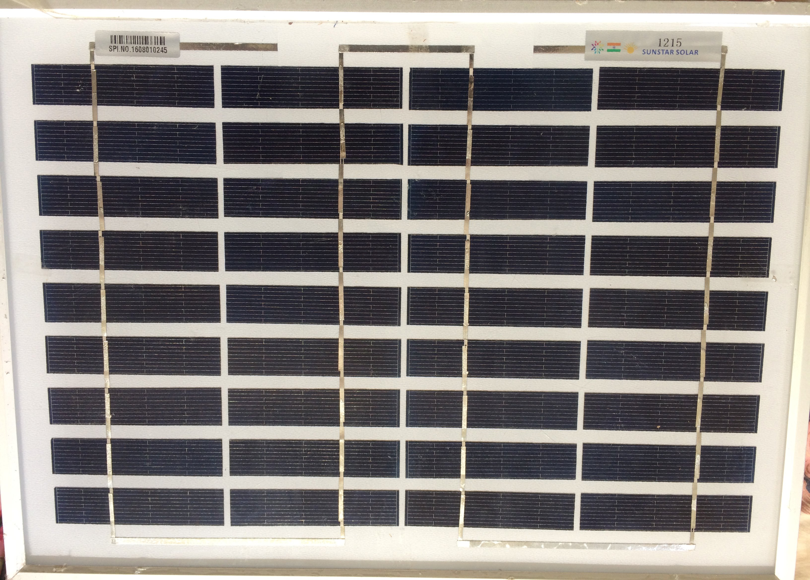 Using a 18v solar panel on a 12v system — northernarizona