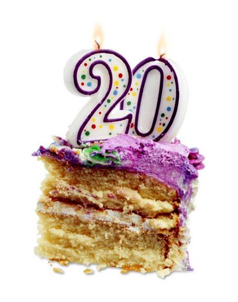 Прикольные поздравления подруге с днем рождения 20 лет