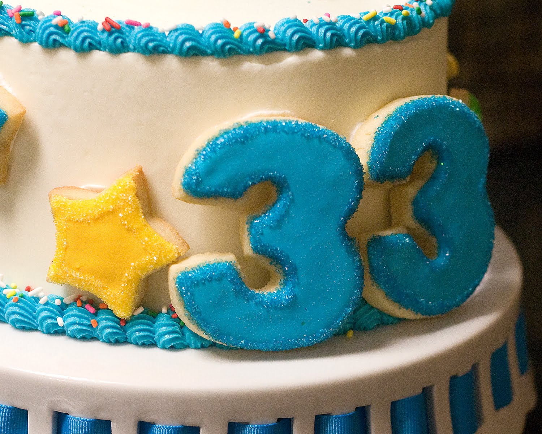 Открытка с днем рождения 33 лет