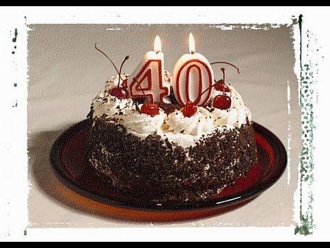 Поздравления с днём рождения мужчина 40 лет