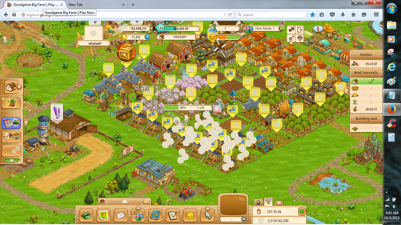 big farm game login