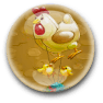 The Chicken  Badge