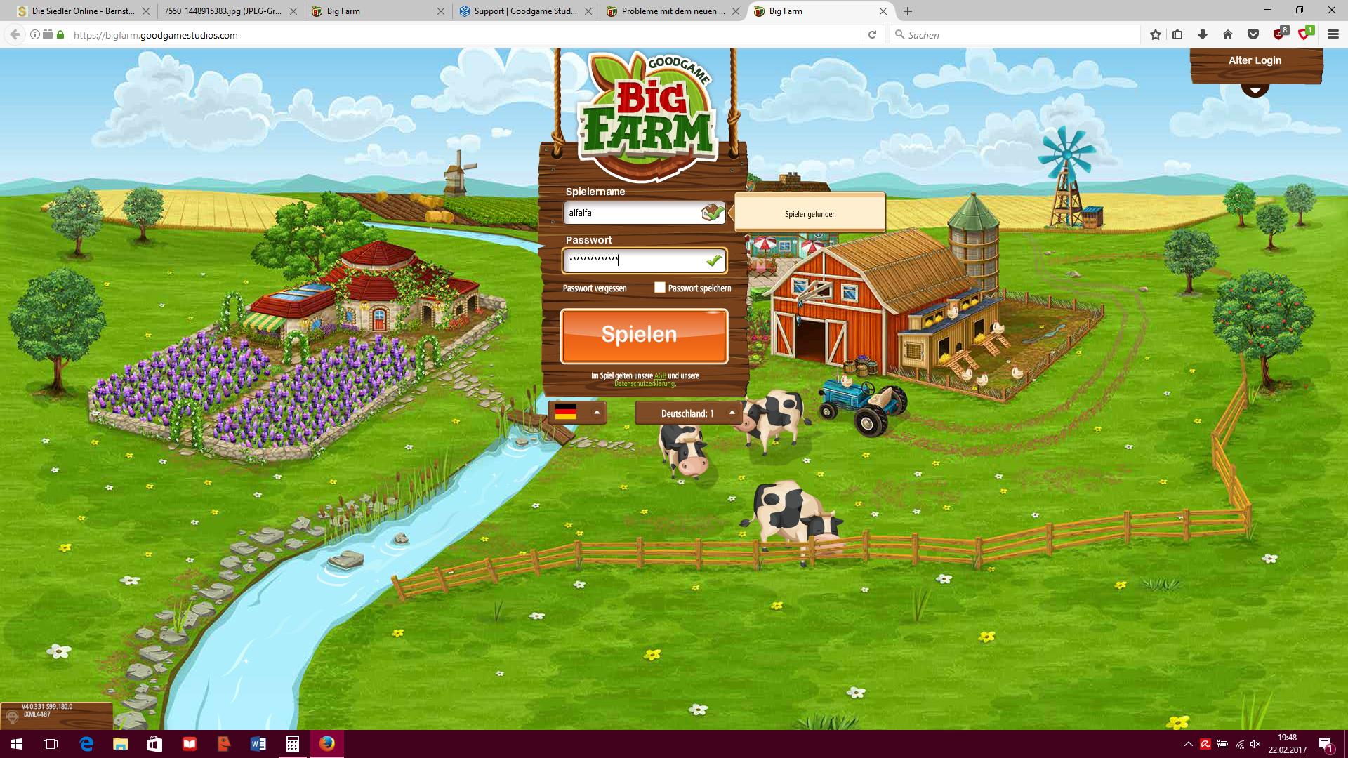 Big Farm Login