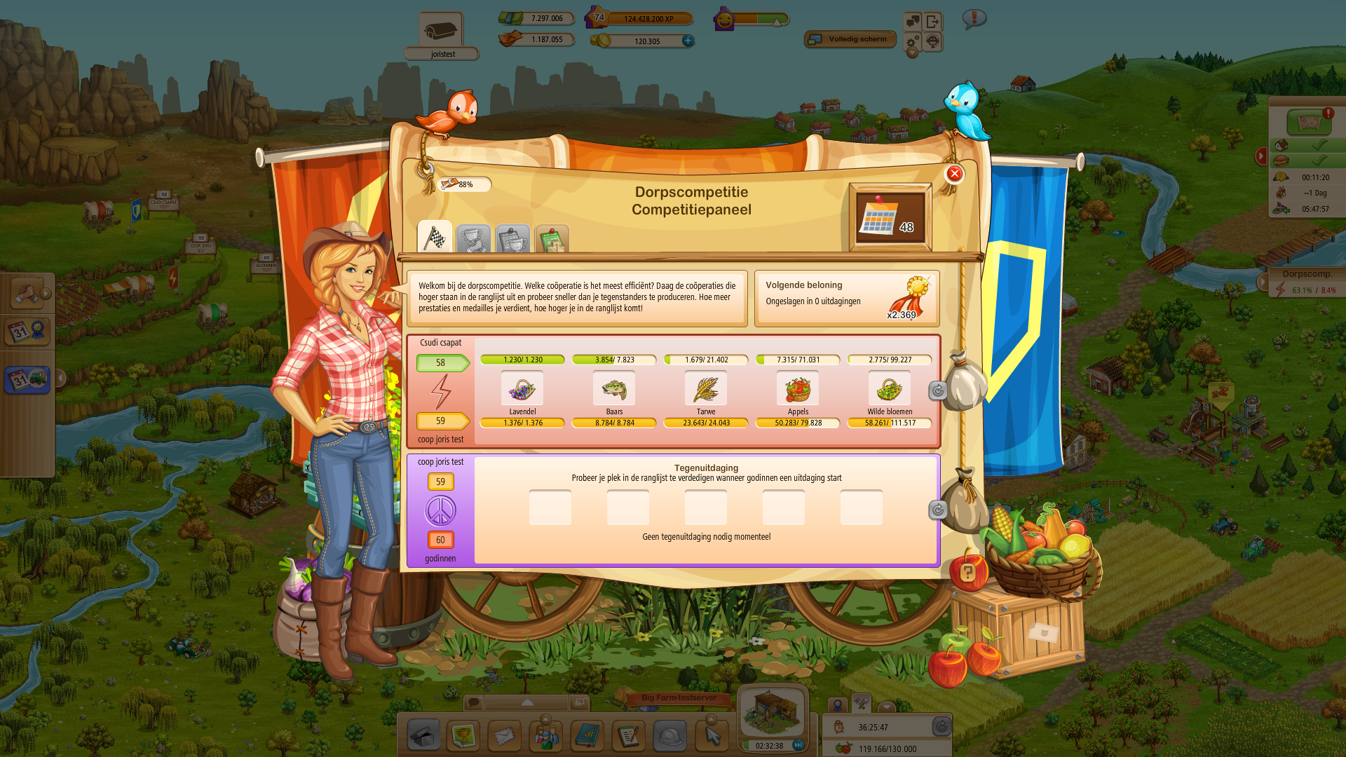 update compition — Big Farm - Forum