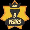 Trois ans de modération !