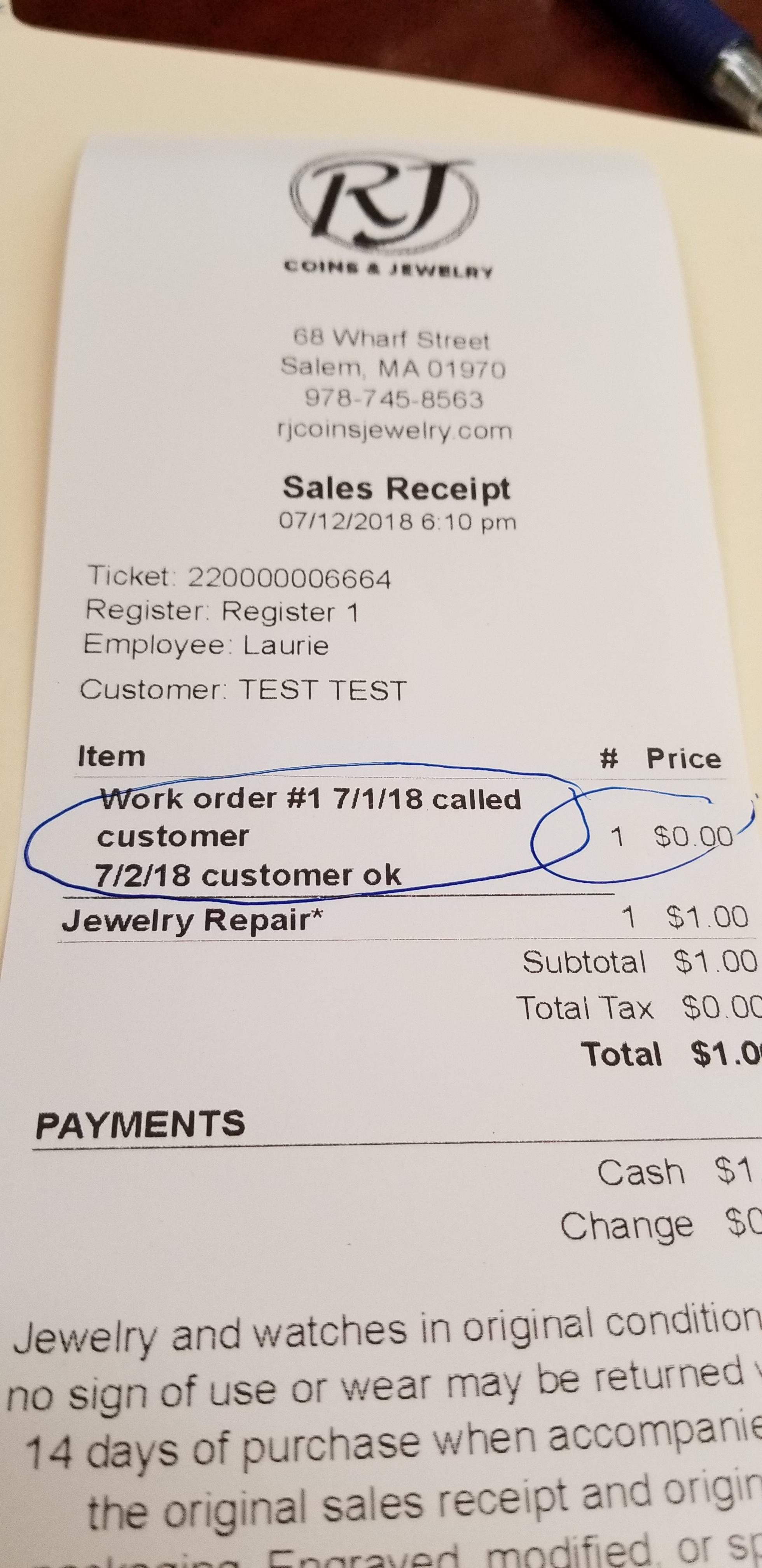 Image result for customer register receipt image