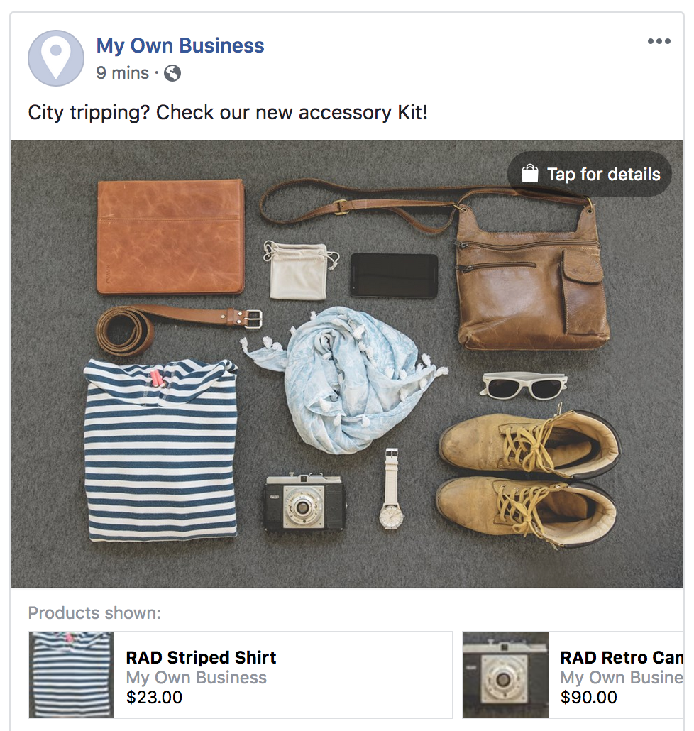 How to tag your eCom products in Facebook and Instagram