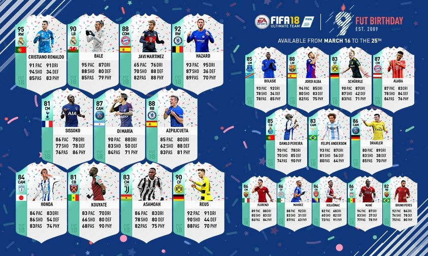 Gute Spieler Fifa 18