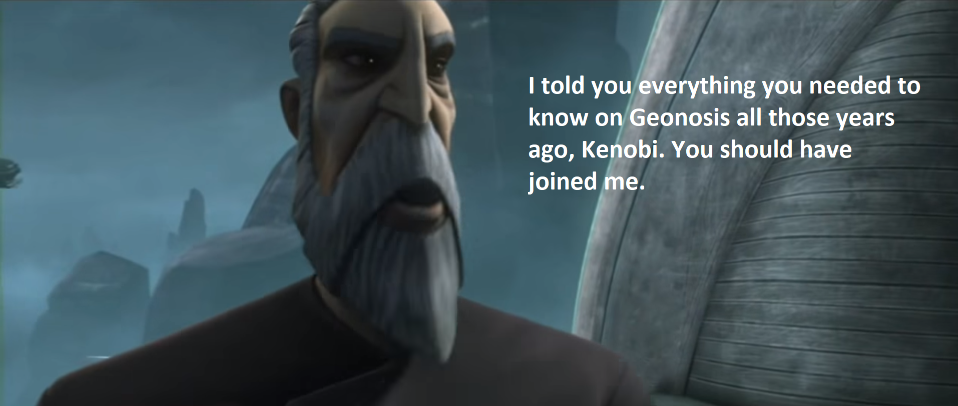 Focused Feedback Anakin Skywalker And Count Dooku Voice