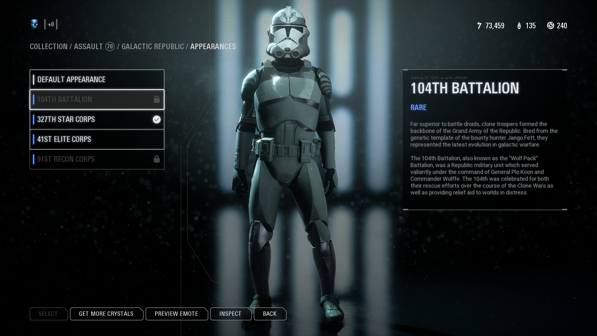 Can't Purchase The New Clone Skins  (September 25th Update