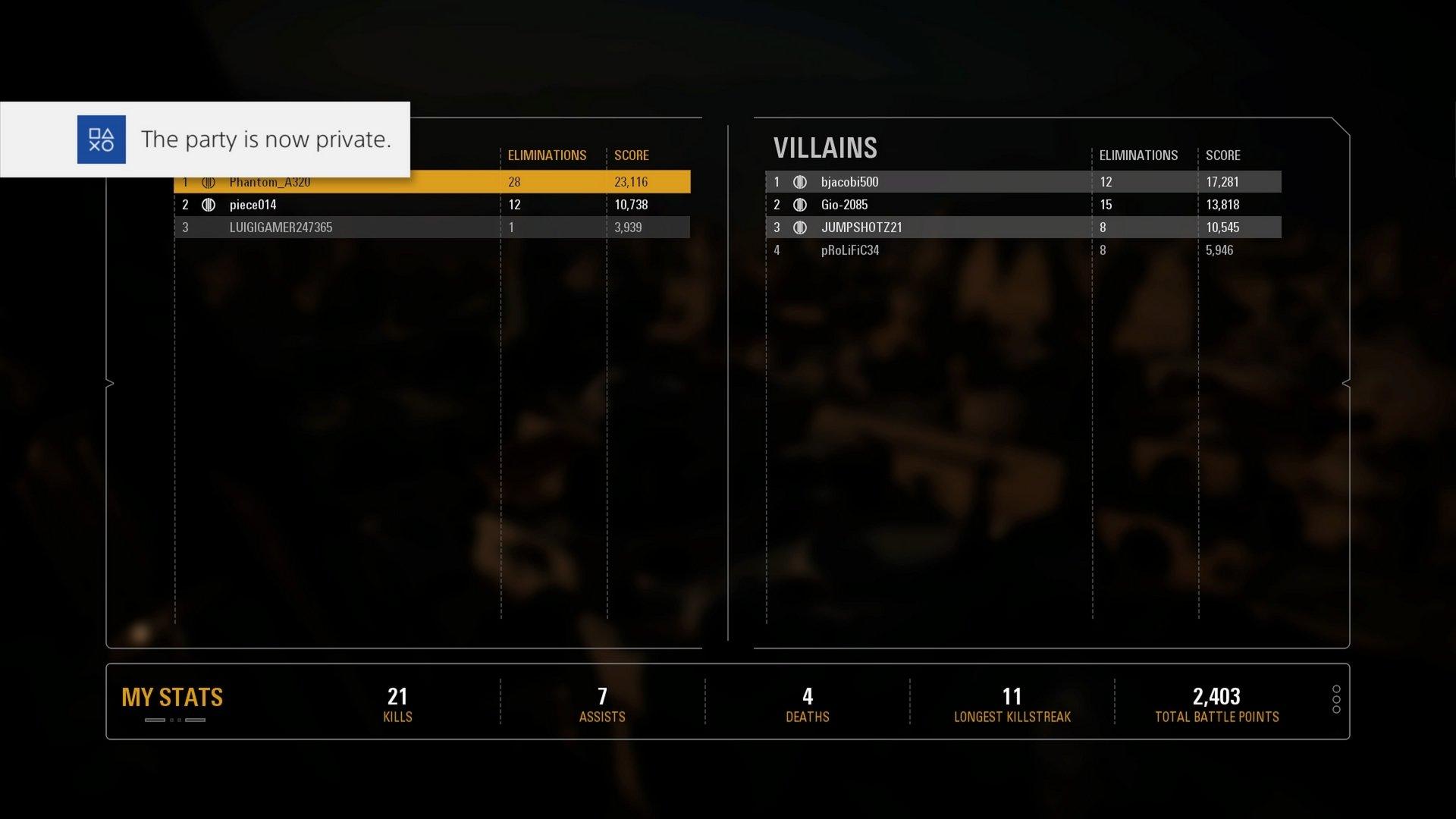 Battlefront 2 heroes vs villains matchmaking