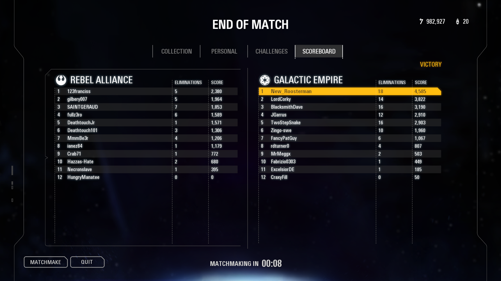 high ping only matchmaking