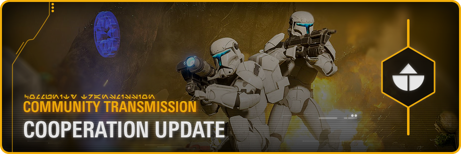 Star Wars: Battlefront 2- Community Transmission - Cooperation Update & Release Notes