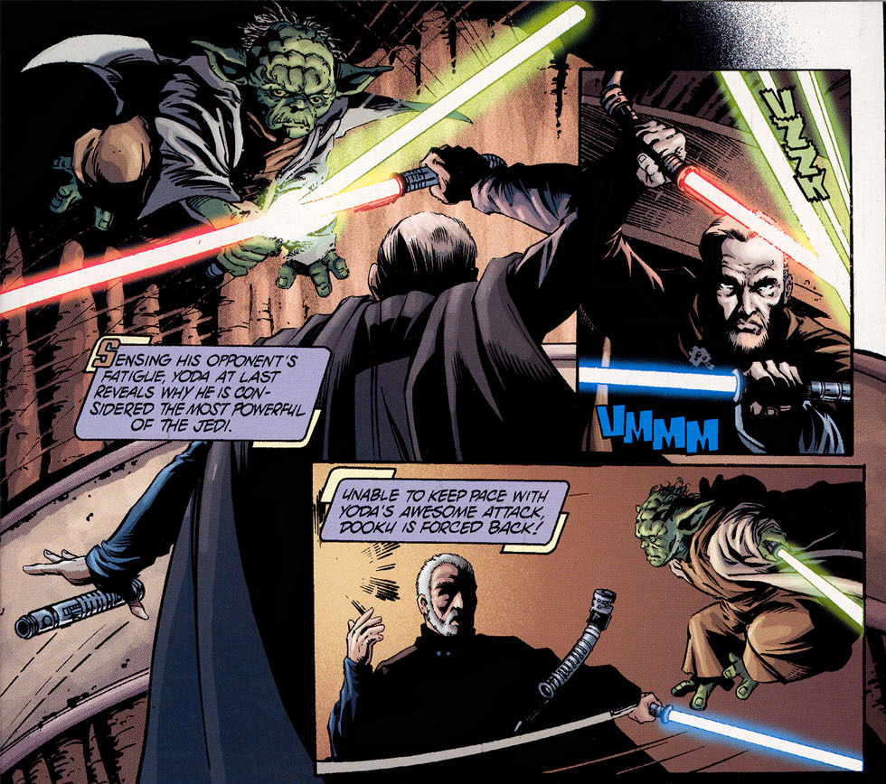 Count Dooku vs Yoda in AotC - was Yoda fighting at full capacity? Por8hez6q8mb