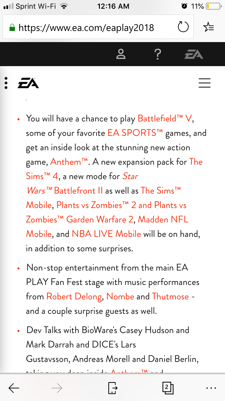 2Pm Bst To Aest ea play 2018 - discussion thread - page 2 — star wars