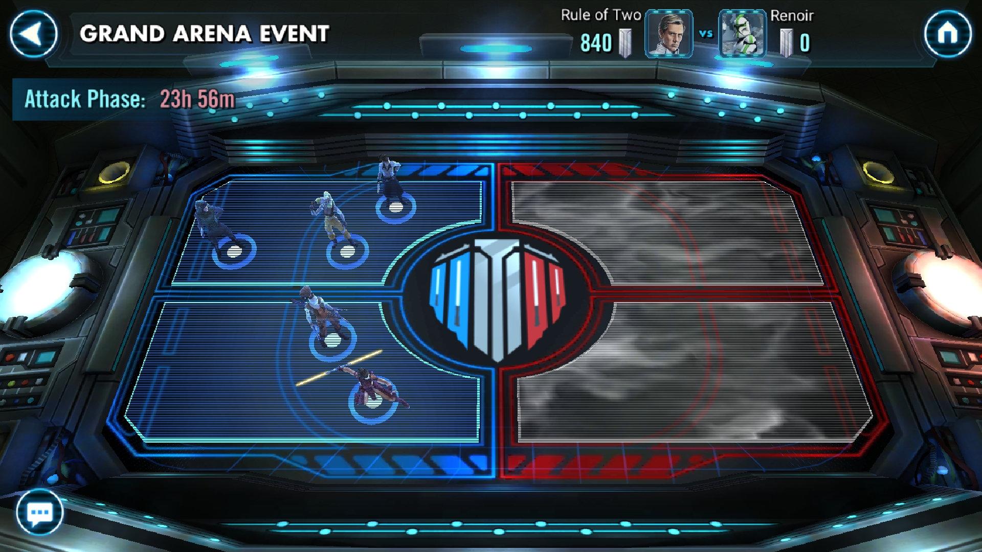 swgoh arena matchmaking