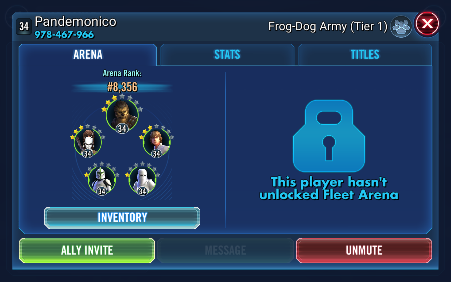 How to report cheater please — Star Wars Galaxy of Heroes Forums