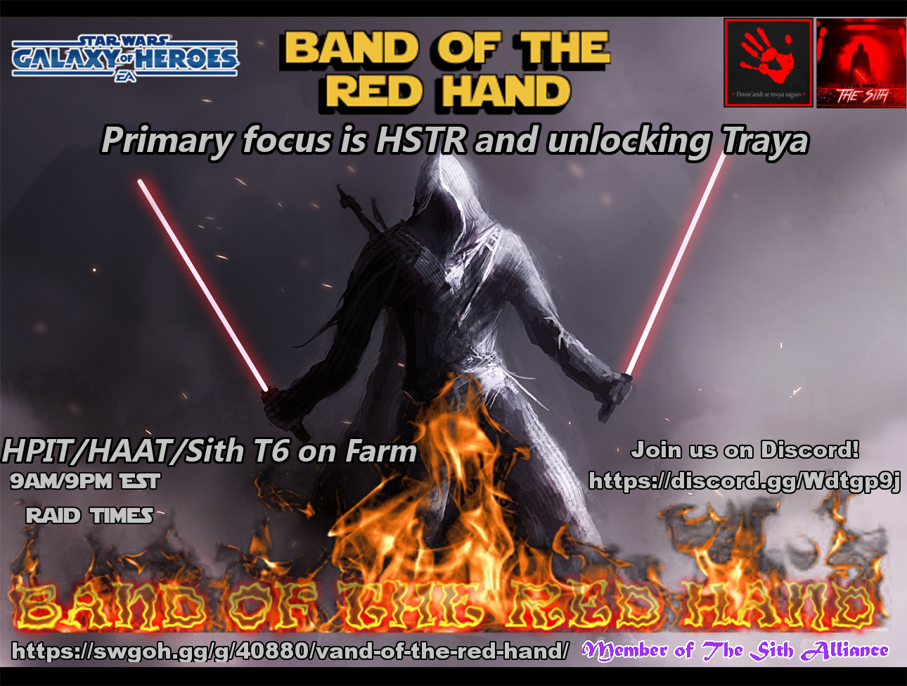 102mil GP Guild: Band of the Red Hand Looking for ACTIVE