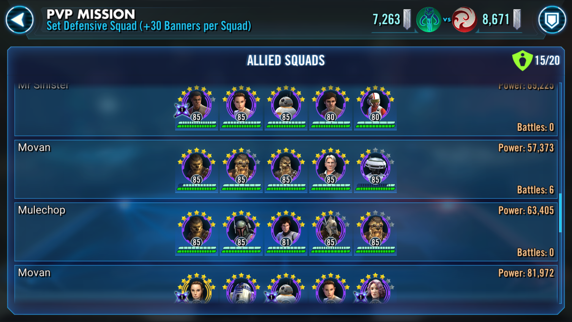 Fun theory crafting teams that actually work  — Star Wars Galaxy of