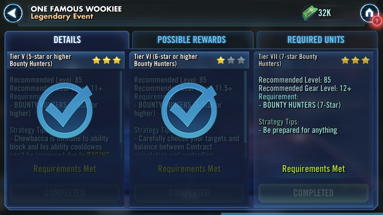 Chewie Legendary Event Difficulty [MERGE] - Page 8 — Star Wars