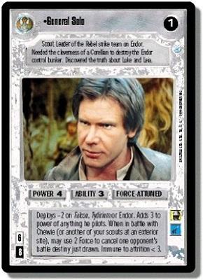 A Star Wars TCG BOY Han Solo