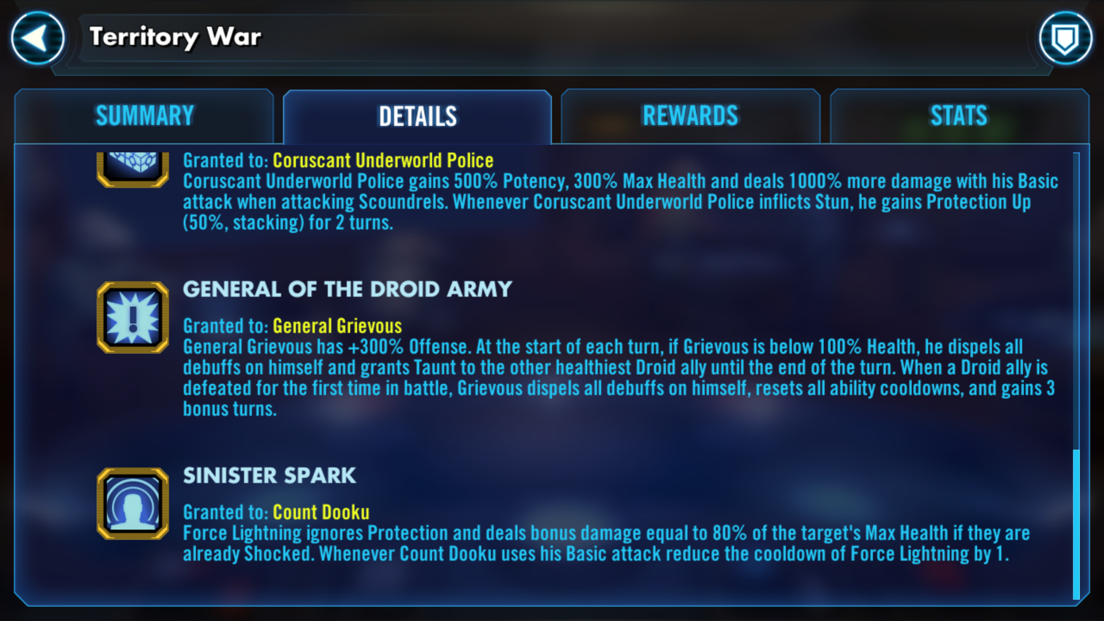 Surprise GR character TW bonus - Page 2 — Star Wars Galaxy of Heroes