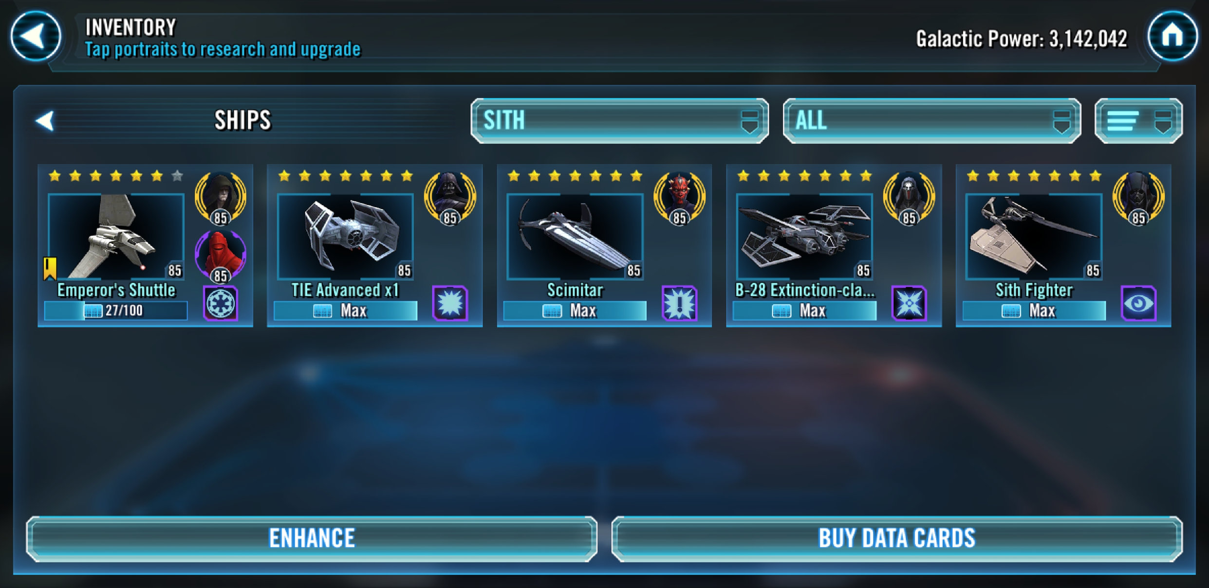 Best Ship Team Without HMF??? — Star Wars Galaxy of Heroes