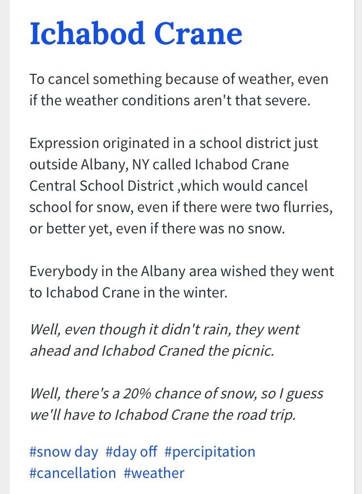 ichabod crane school district