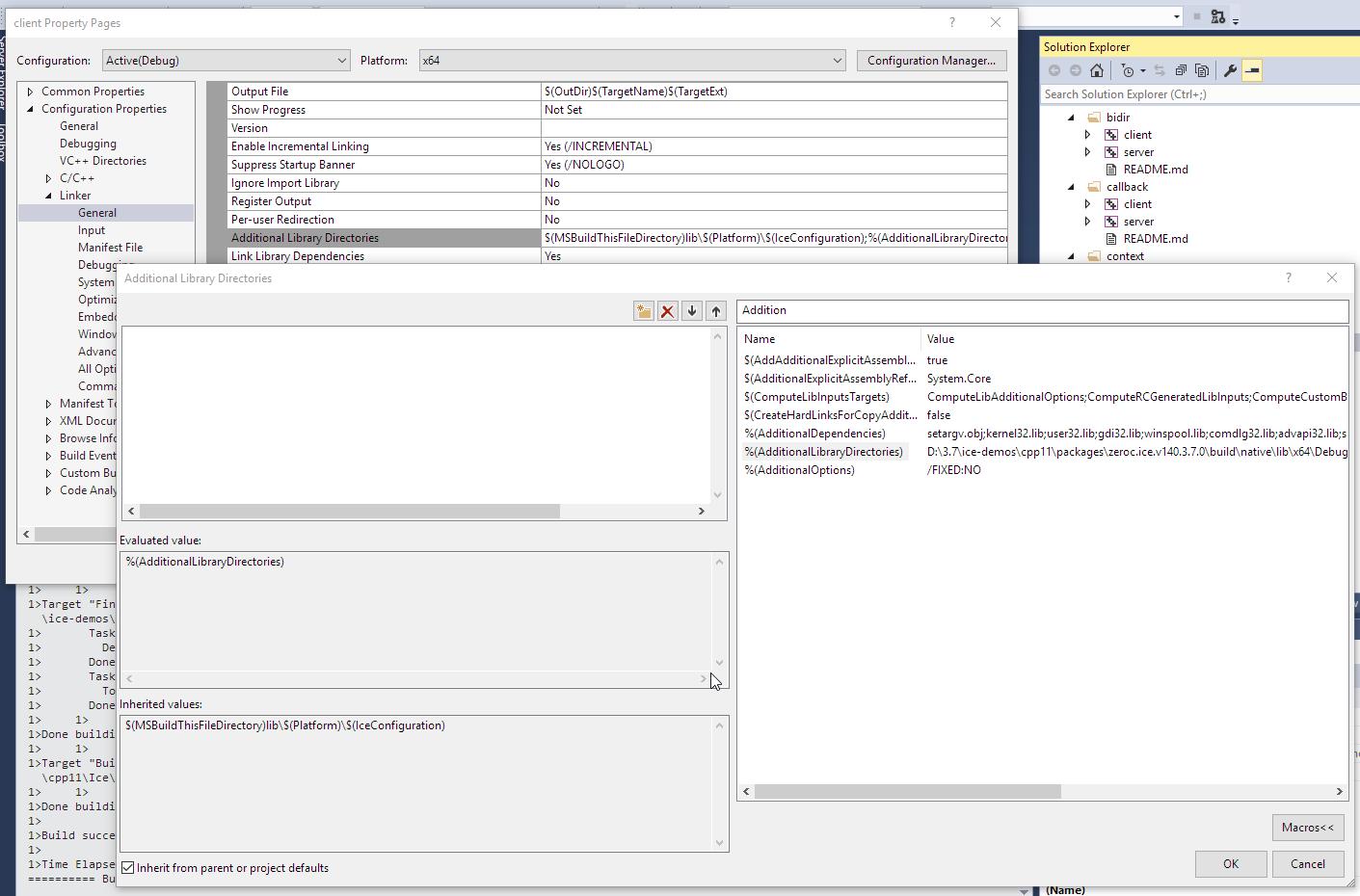 Error with Visual Studio 2015 using nuget package in debug