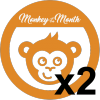 Monkey Of The Month Winner x2