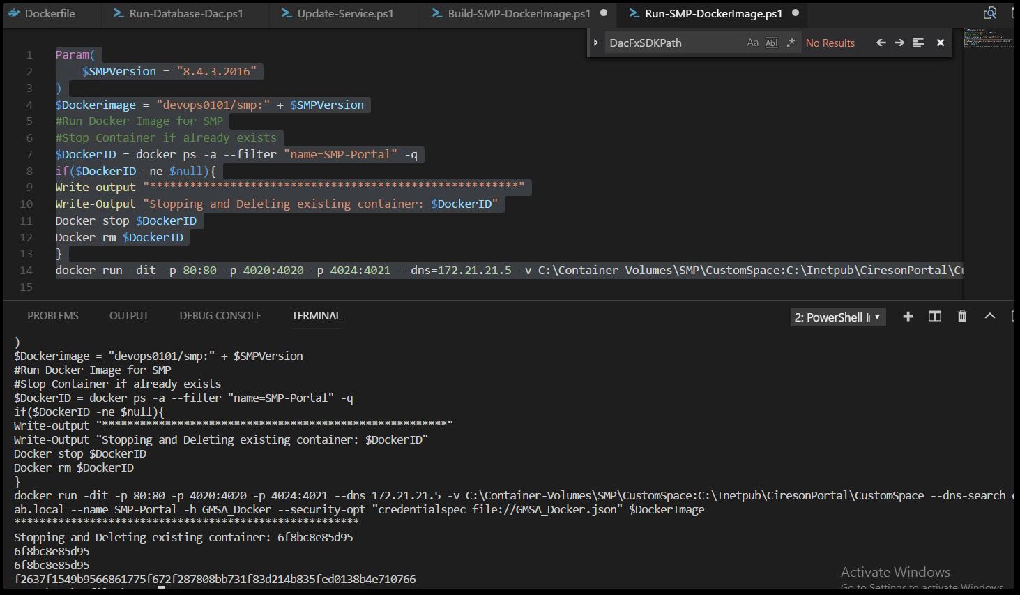 Example: Cireson SCSM Portal on Docker Windows Containers — Cireson