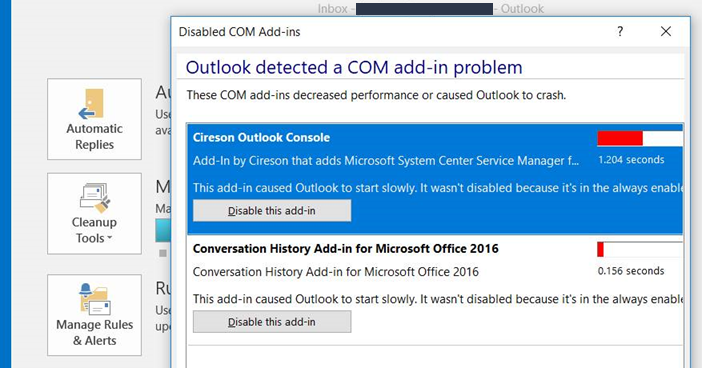 Will Cireson be making the Cireson Outlook Console Add-In