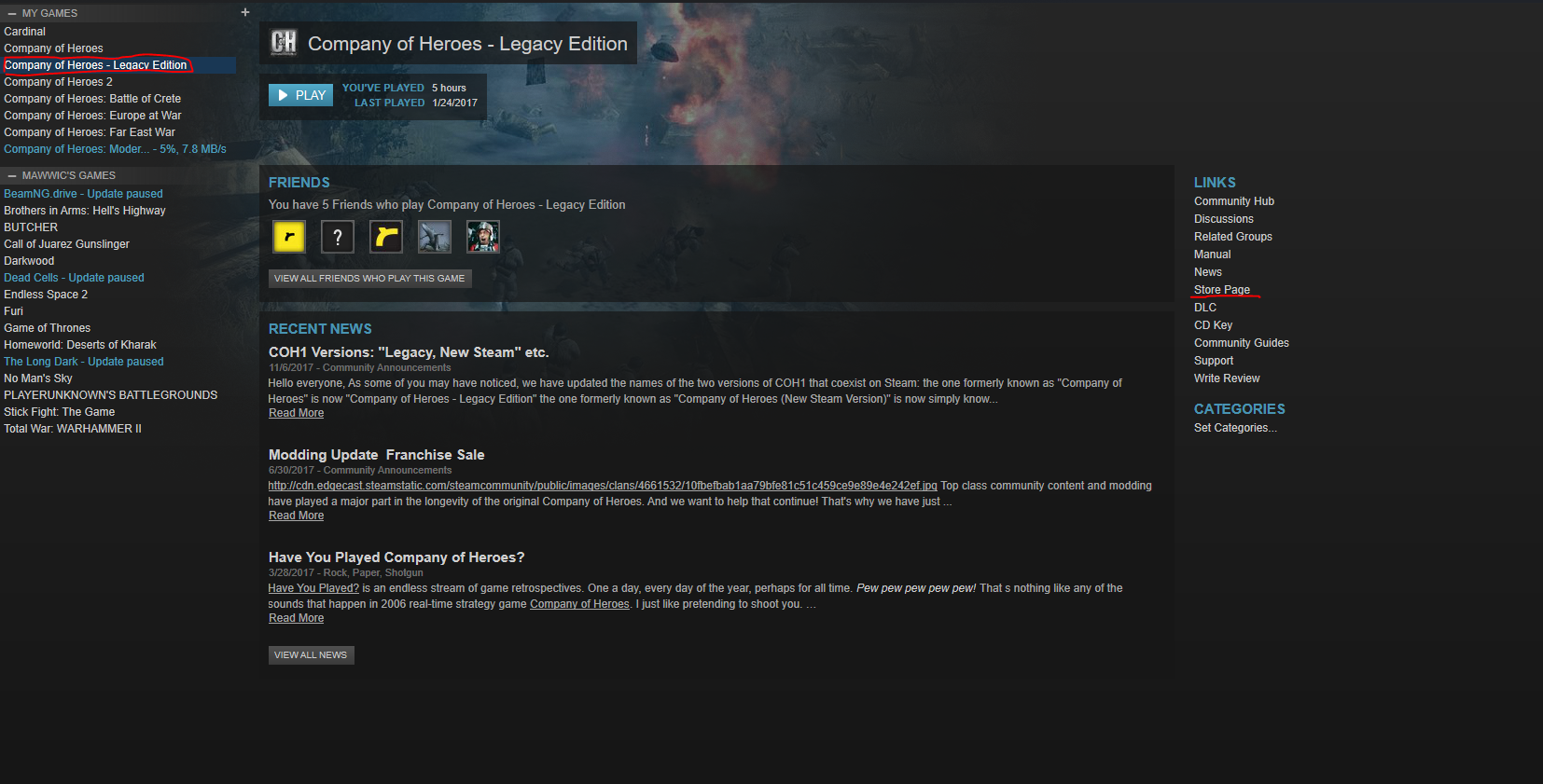 Legacy Mods - how to? — Company of Heroes Official Forums