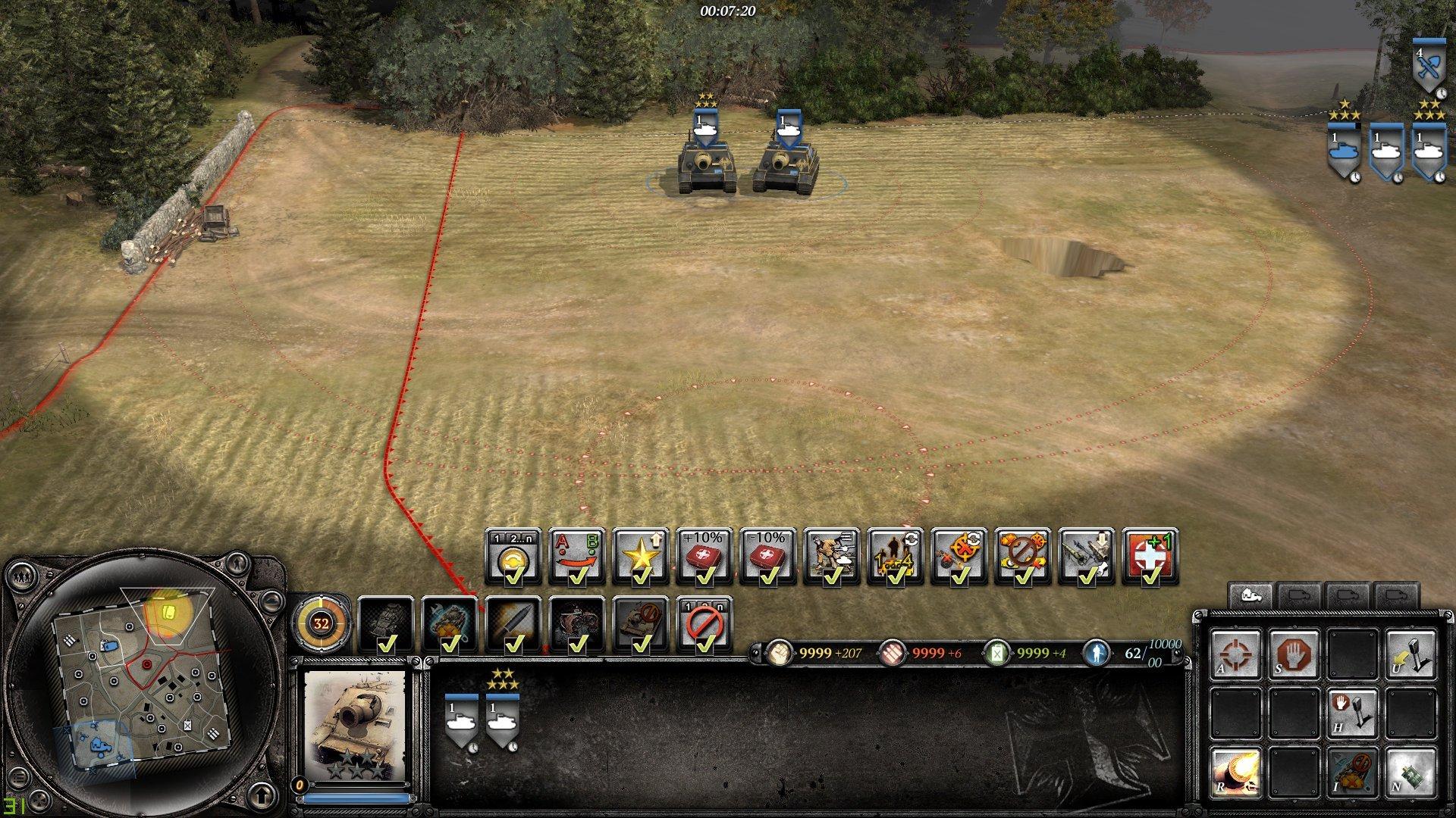 OKW Sturmtigers Vet 4 bonus isn't working as described — Company of