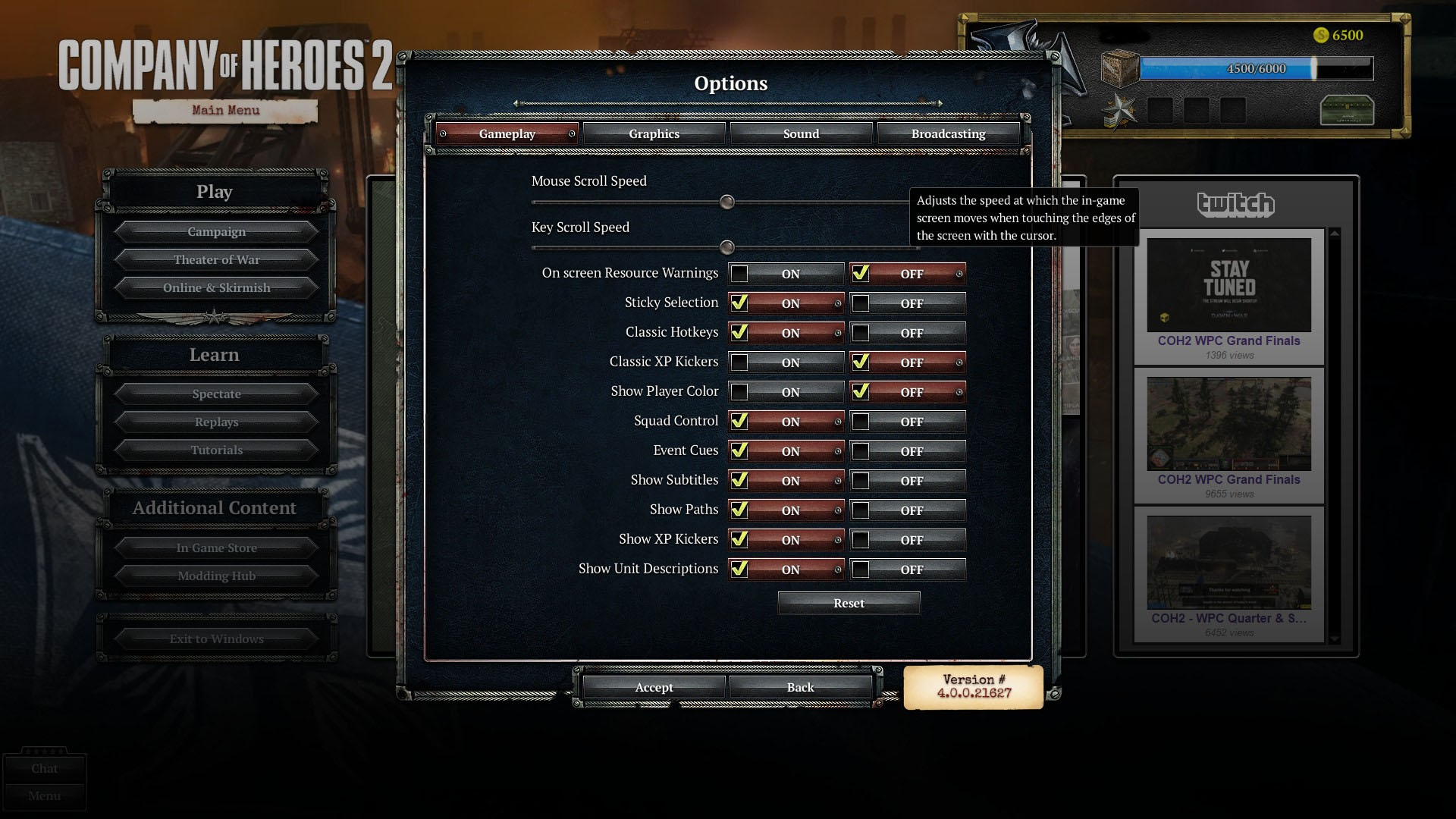 Log In Company Of Heroes Official Forums