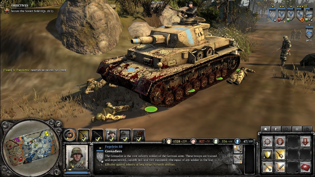 WEHRMACHT NEW COMMANDER PROPOSALS — Company of Heroes