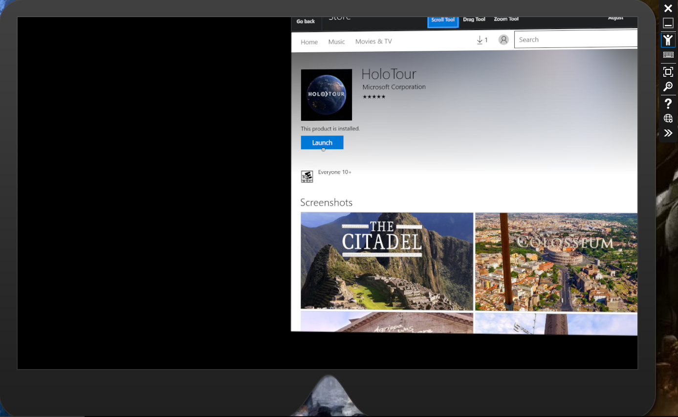 How to install HoloTour on to HoloLens emulator (14393