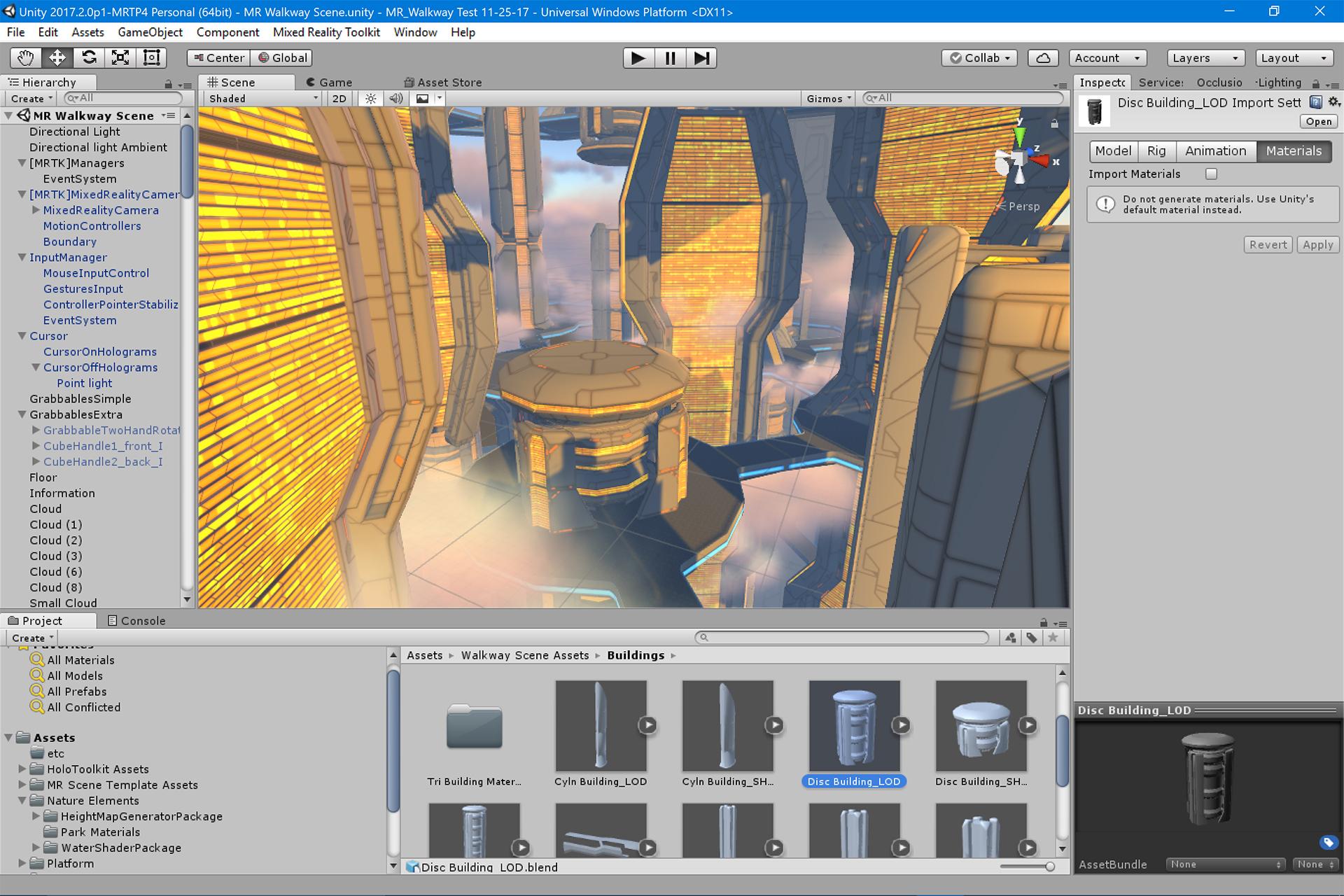VR Navigation with Motion Controller Joysticks in Unity
