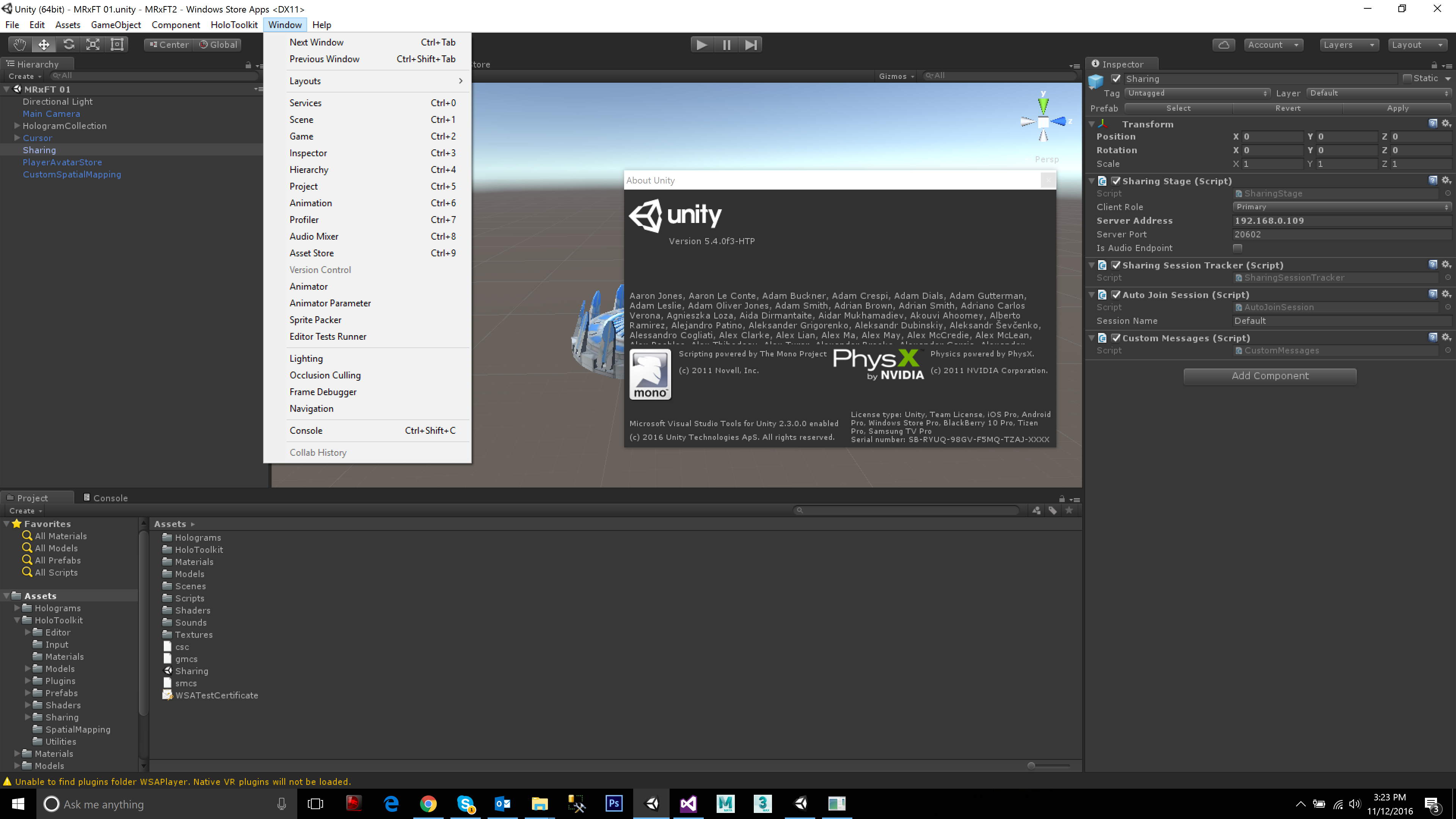 Unity Build Game Script Not Working