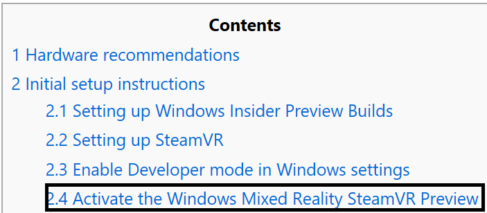 Closed beta using steamvr with windows mixed reality windows this is the header and outline is the section of documentation where you personal email code goes ccuart Gallery