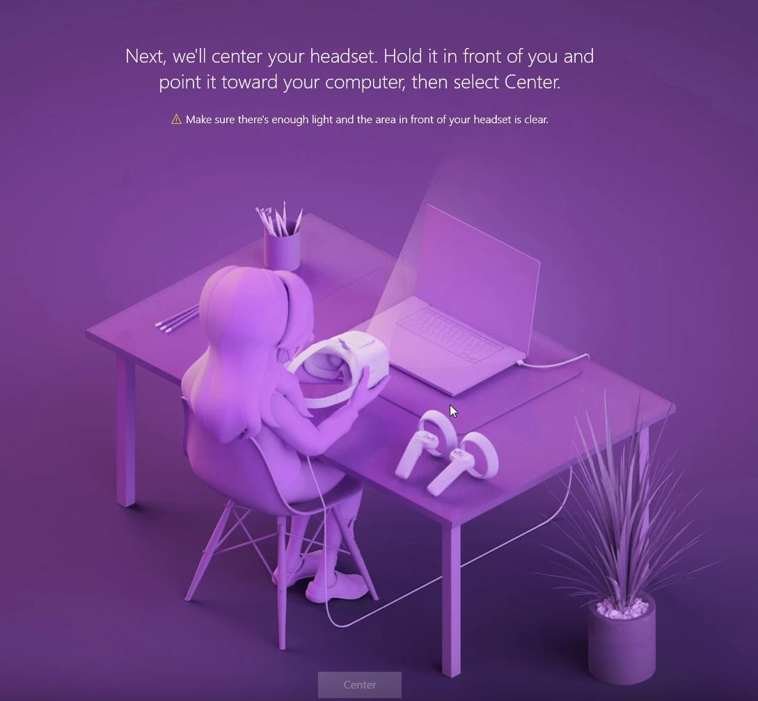Mixed Reality Setup Error — Mixed Reality Developer Forum