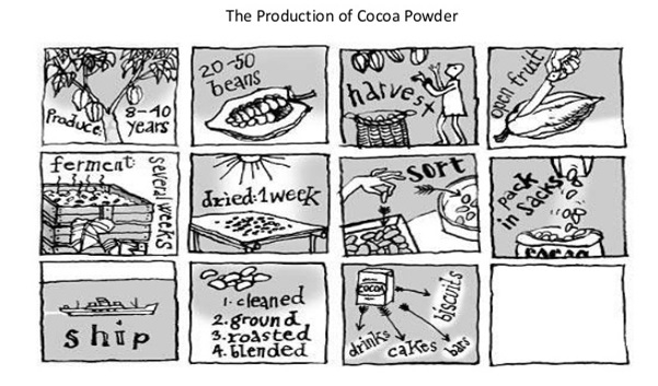 Ielts task 1 diagrams the passive for processes scotts english cocoa production cycleg ccuart Image collections